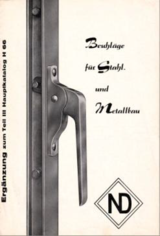 1950-1969 Katalogcover DENI