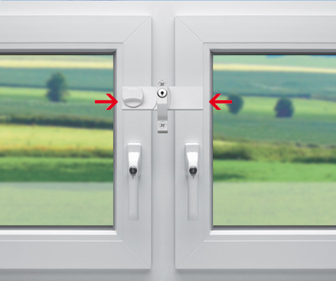 Anwendungsdarstellung Fenstersicherung FS4