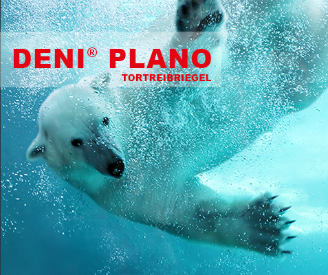 DENI Plano Tortreibriegel - Polar bear underwater attack